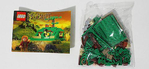 SDCC Comic Con LEGO Hobbit Mini Bag End Set Details
