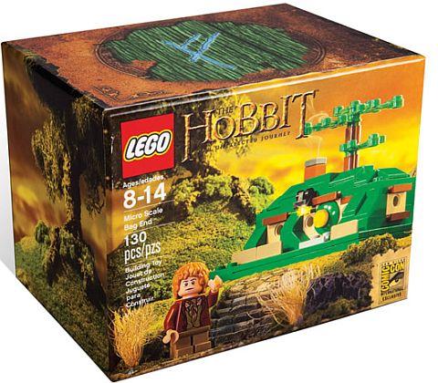 SDCC Comic Con LEGO Hobbit Mini Bag End Set