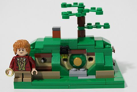 SDCC Comic Con LEGO Hobbit Mini Bag End
