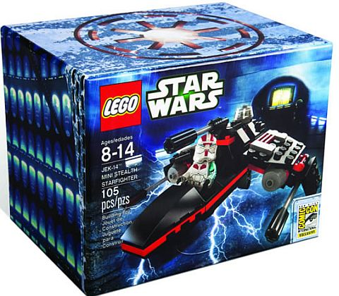 SDCC Comic Con LEGO Star Wars Jek-14 Mini Set