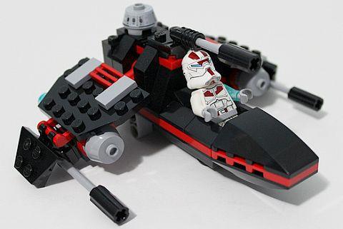 SDCC Comic Con LEGO Star Wars Jek-14 Set