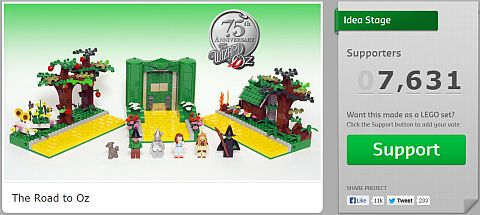 Vote for LEGO CUUSOO Wizard of Oz