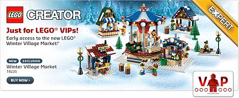 #10235 LEGO Winter Village Market Available Now