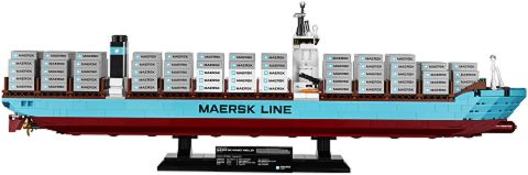#10241 LEGO Maersk Cargo Ship From the Side