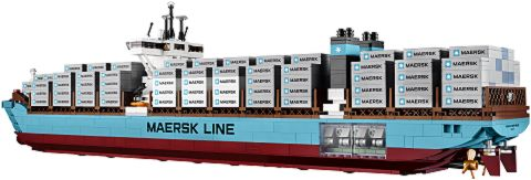 #10241 LEGO Maersk Ship Back View