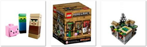 #21105 LEGO Minecraft The Village Details