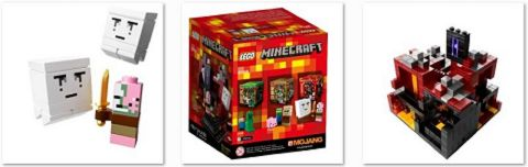 #21106 LEGO Minecraft The Nether Details