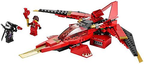 #70721 LEGO Ninjago Kai Fighter Details