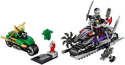 #70722 LEGO Ninjago OverBorg Attack Details