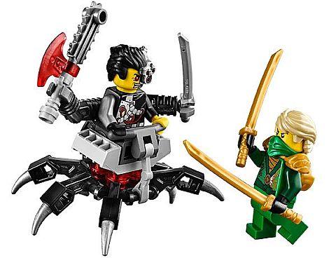 #70722 LEGO Ninjago OverBorg Attack Minifigures