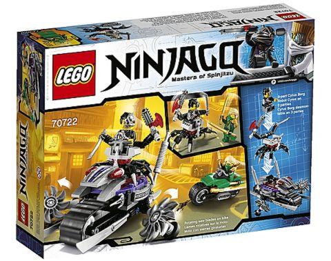 #70722 LEGO Ninjago OverBorg Attack