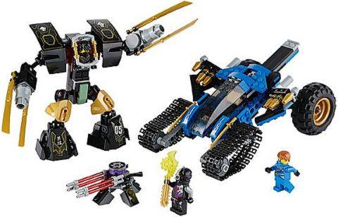 #70723 LEGO Ninjago Thunder Raider Details