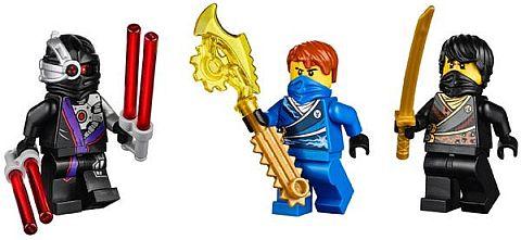 #70723 LEGO Ninjago Thunder Raider Minifigures