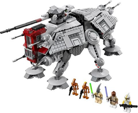 #75019 LEGO Star Wars AT-TE Details