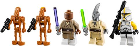 #75019 LEGO Star Wars AT-TE Minifigures