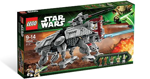 #75019 LEGO Star Wars AT-TE Review