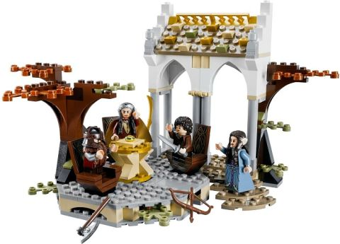#79006 LEGO Lord of the Rings Council of Elrond Details