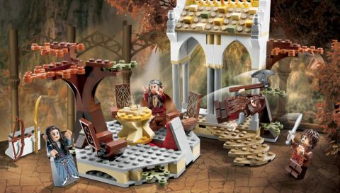 #79006 LEGO Lord of the Rings Council of Elrond Review