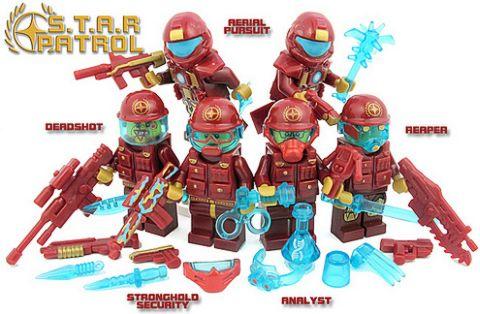 Custom LEGO Galactic Soldiers by BrickForge