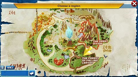 LEGO Chima Online Regions