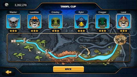 LEGO Chima Speedorz Game Tribal Cup