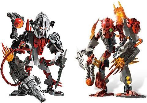 LEGO Hero Factory Drilldozer and Nitroblast