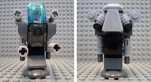 LEGO MOC Challenge - Battle Mech