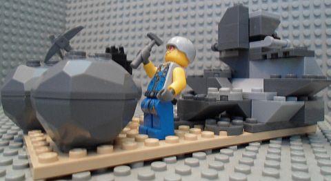 LEGO MOC Challenge - Mine