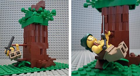 LEGO MOC Challenge - Pirate Tree