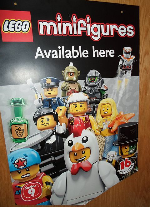 LEGO Minifigure Poster