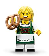 LEGO Minifigures Series 11 Bavarian Lady