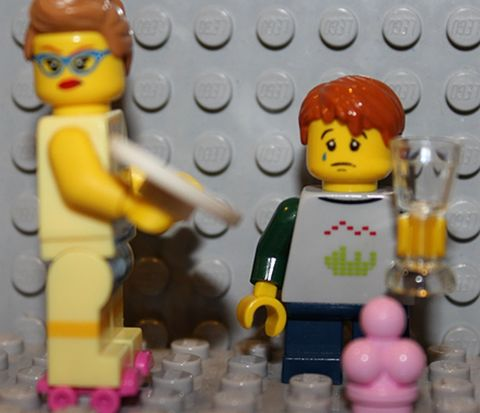 LEGO Minifigures Series 11 Diner Waitress