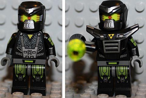 LEGO Minifigures Series 11 Evil Mech Details
