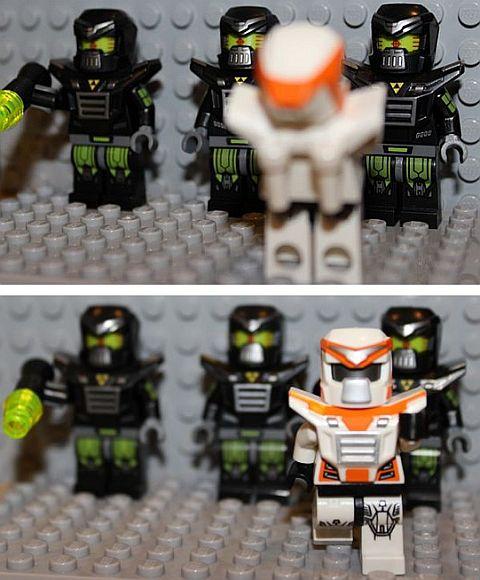 LEGO Minifigures Series 11 Evil Mech
