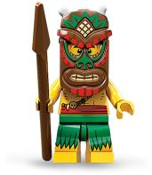 LEGO Minifigures Series 11 Tiki Warrior