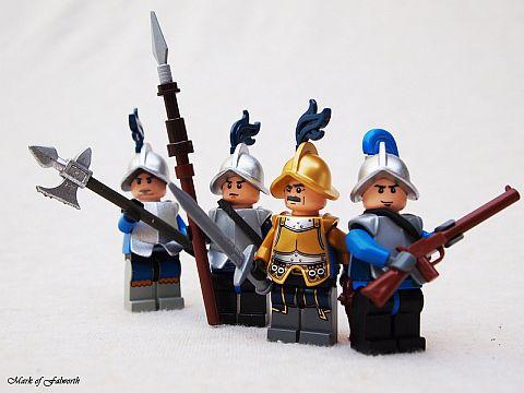 LEGO Minifigures by Mark Falworth