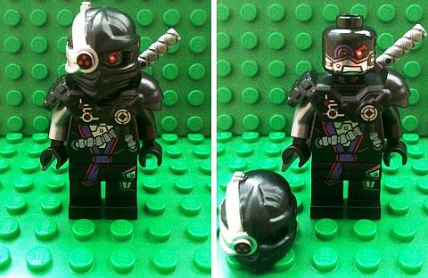 LEGO Ninjago 2014 General Cryptor Close Ups