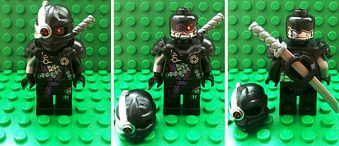 LEGO Ninjago 2014 General Cryptor Details