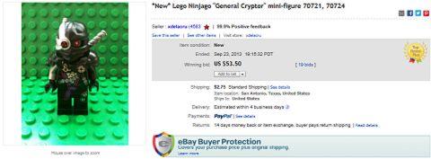 LEGO Ninjago 2014 General Cryptor