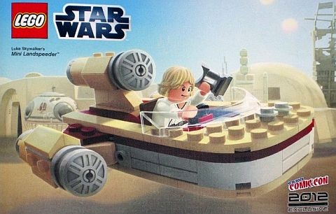 LEGO STar Wars Luke's Mini Landspeeder