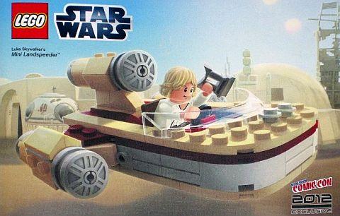 LEGO STar Wars Luke's Mini Landspeeder