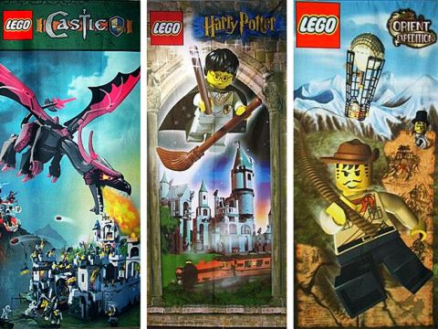 LEGO Shop Banners