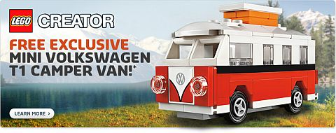 LEGO Shopping - Free Mini VW Camper