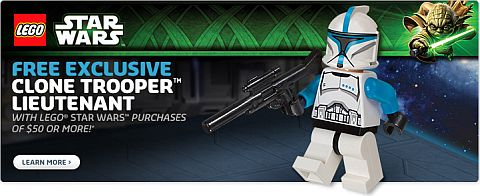LEGO Shopping - Free Star Wars Minifigure