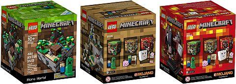 LEGO Shopping - LEGO Minecraft