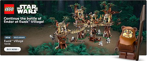 LEGO Shopping - LEGO Star Wars Ewok Village
