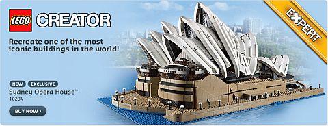 LEGO Shopping - LEGO Sydney Opera House