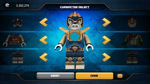 LEGO Speedorz Game Character Select