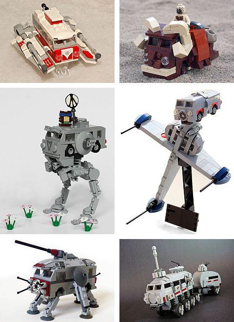 LEGO Star Wars Camper Van Conversions at FBTB