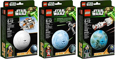 LEGO Star Wars Planets Series 4